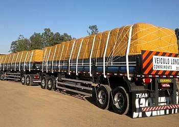Cinta para carga de caminhão