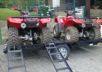 Carreta para 2 quadriciclos
