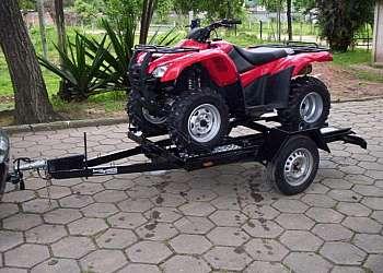 Carreta basculante quadriciclo