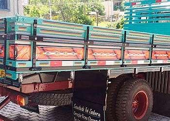 Carroceria graneleira para truck a venda