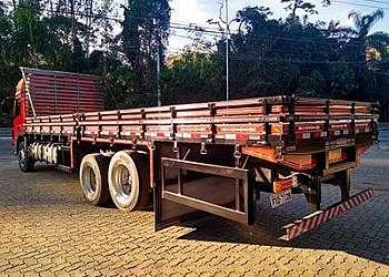 Carroceria de madeira truck