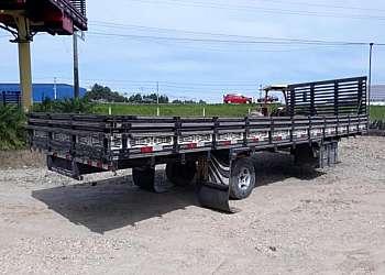 Carroceria de alumínio para caminhão