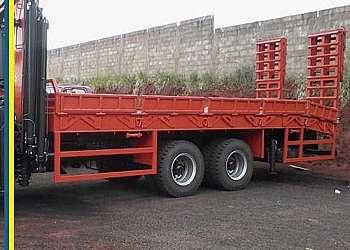 Carroceria graneleiro para truck