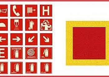 Fábrica de carreta para painel de sinalização